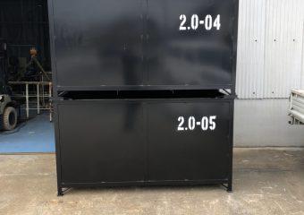 フォークリフト差し込み穴付き2立米(m3)箱